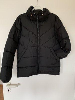 Schwarze Daunenjacke Jacke von Tom Tailor in Gr. S