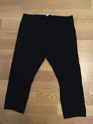schwarze deha Legging, Größe Medium, Dreiviertel.