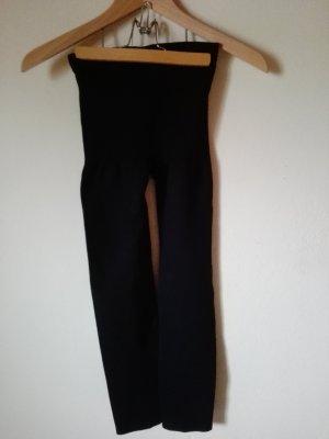 schwarze Designer Leggings Pfeffinger Mode Gr. M