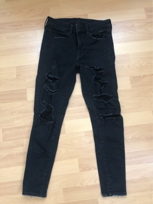 American Eagle Outfitters Jeans stretch noir