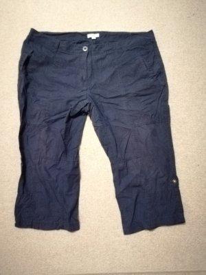 s. Oliver (QS designed) Pantalón pirata gris pizarra-azul oscuro