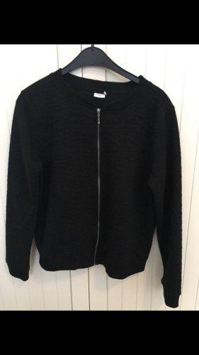 Schwarze dünne Jacke