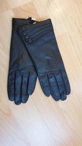 fraenkli's Leren handschoenen zwart