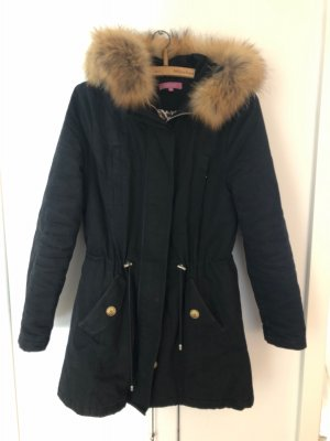 Suzanna Parka black-brown
