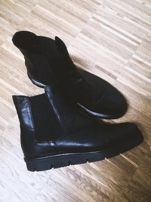Bianco Winter Booties black leather