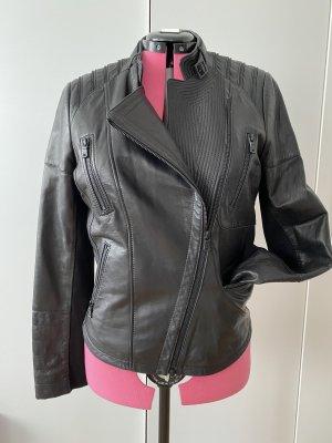 Milestone Leather Jacket black leather