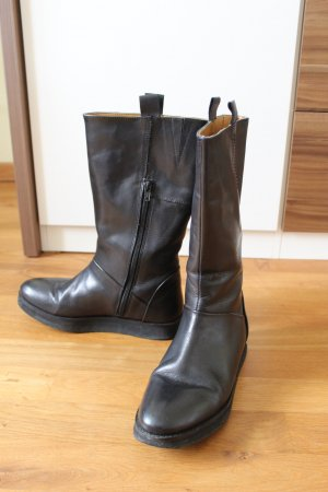 Short Boots black leather