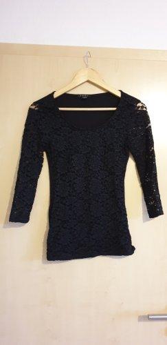 Amisu Gebreid shirt zwart