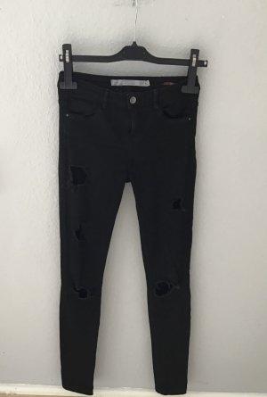 Schwarze enge Jeans, ZARA, Größe 36