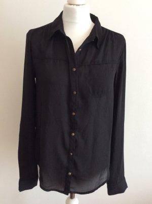 schwarze feine Bluse Vero Moda Gr. M