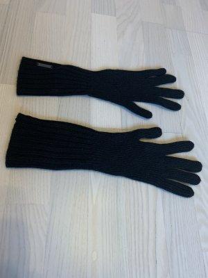 Burberry Rękawiczki biały-czarny Poliakryl