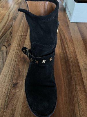 Schwarze Fiorentini+Baker Boots, super stylisch