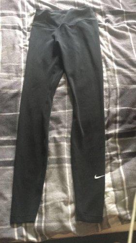 Schwarze Fitness Leggings von Nike