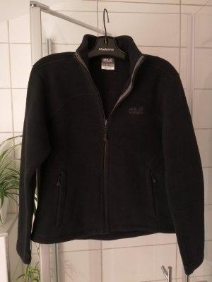 Schwarze Fleece Jacke von Jack Wolfskin