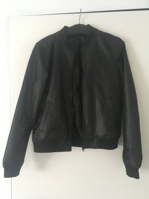 Noisy May Flight Jacket black polyester