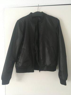 Noisy May Vliegeniersjack zwart Polyester