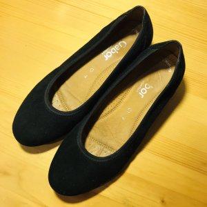 Gabor Comfort Mary Jane Ballerinas black
