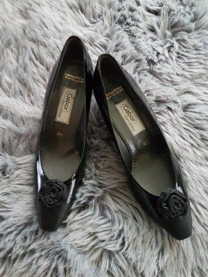 Schwarze Gabor  Schuhe