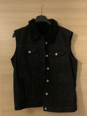 New Yorker Denim Vest black