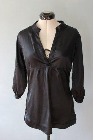 Vero Moda Połyskująca bluzka czarny