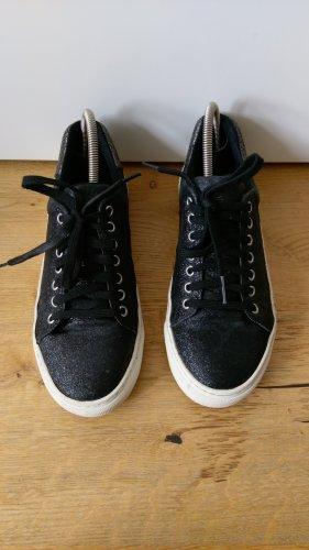 Schwarze glitzer Sneaker