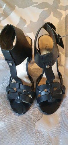 Schwarze Guess Sandalette