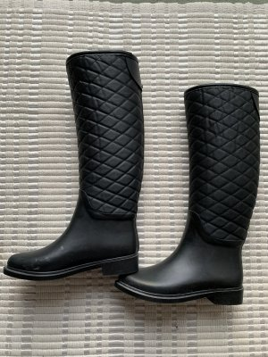 Zara Basic Wellies black