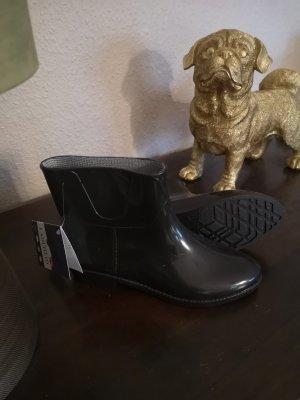Keine Marke Gumowe buty czarny