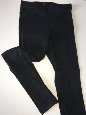 Schwarze H&m Basic Hose