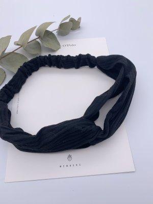 Schwarze Haarband