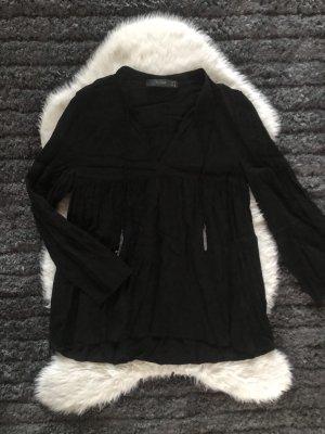 Hallhuber Shirt Blouse black