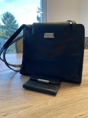 Schwarze Hand- & Geldtasche von Mandarina Duck