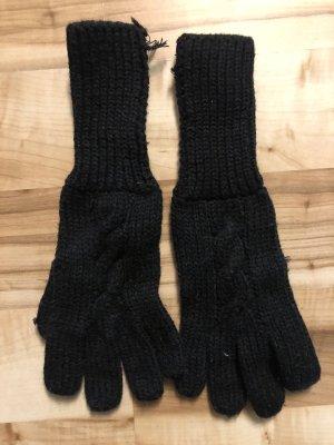 Schwarze Handschuhe