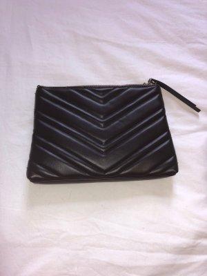 Schwarze Handtasche / Clutch von H&M