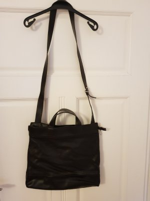 schwarze Handtasche Mandarina Duck