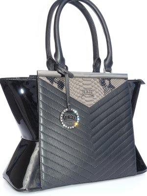 Schwarze Handtasche neu Damentasche Henkeltasche Miss Germany Luxus Collection