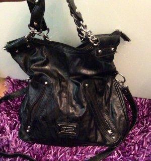 Schwarze Handtasche neu mit Schulter Gürtel