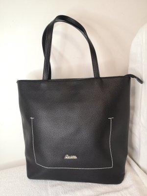 Schwarze Handtasche Schultertasche, neu