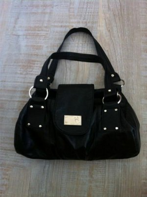 schwarze Handtasche Tasche Umhängetasche
