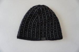 Armani Exchange Knitted Hat black-dark grey