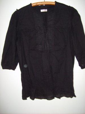 Schwarze Hemdbluse von Orsay