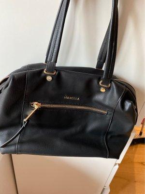 Schwarze henkeltasche
