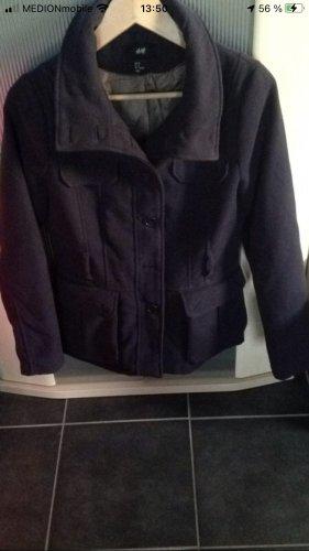 H&M Pilotenjack zwart