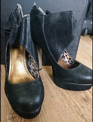 Schwarze High Heels 40