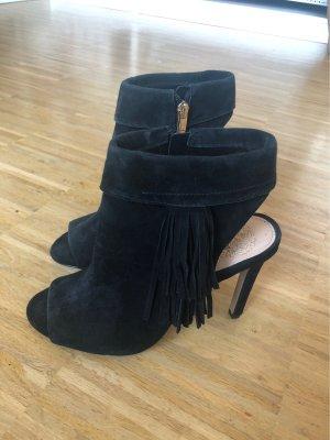 Schwarze High-Heels