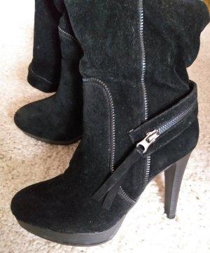 Schwarze High-Heels Stiefel von Weide