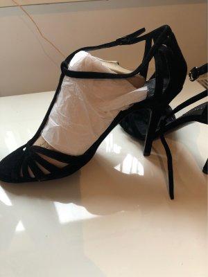 Schwarze High Heels von Ralph Lauren neu