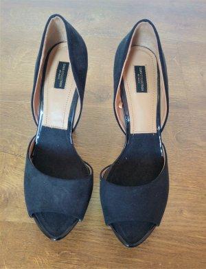 schwarze High Heels Zara Collection Gr 37