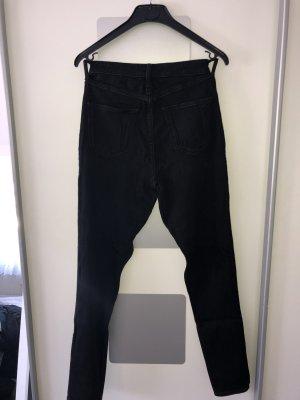 Hollister Jeans a vita alta nero