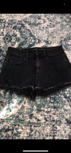 American Eagle Outfitters Short taille haute noir